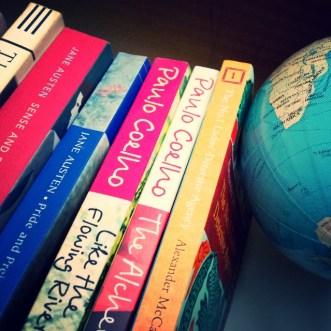 Treasured books.