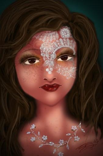 Face Origional AGE 20, Digital AGE 21