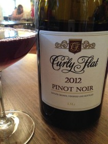 One of the nicest pinots I've had