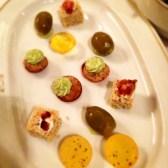 Snacks at Del Cambio