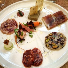 The excellent charcuterie plate at Vardon, Adelaide