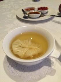 Seafood soup dumpling