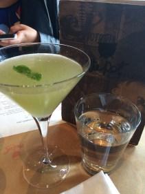 Yum Tang Gwa: Cucumber, lime, vodka, mint