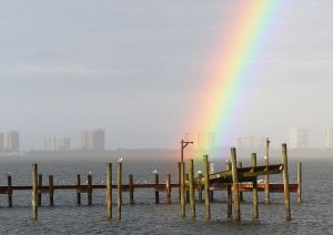 """End of he Rainbow,"" South Florida. (Photo by John Whiticar, 2013.)"