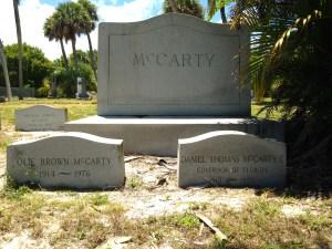 Family plot McCarty.