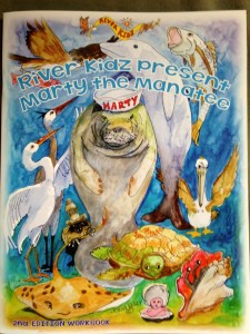 River Kidz' Second Edition Workbook, presented by Marty the Manatee is here!