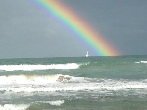 Somewhere Over the Rainbow, St Lucie River/Indian River Lagoon...(Photo Jensen Beach Jacqui Thurlow-Lippisch)