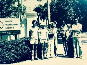 Budding Florida Oceanographic Society, ca. 1970s (Tides of Time, FOS.)