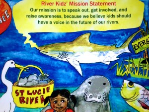 River Kidz' mission statement. (Artwork by Julia Kelly, 2012.)