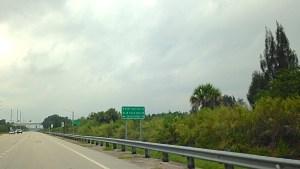 Sign at Port Mayaca, Indiantown.
