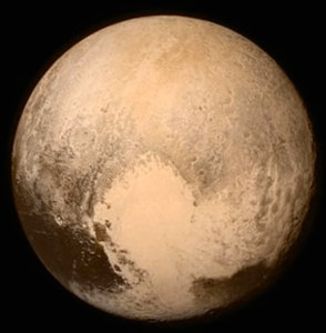 Pluto 2015 as photographed by NEW HORIZONS spacecraft.