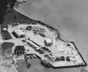 Labeled 1955 USCG and FtPierce Inlet. (Achieves SHT)