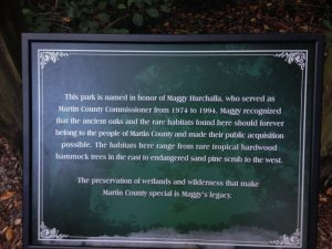 Plaque in park. Photo Sandra Thurlow 2015.