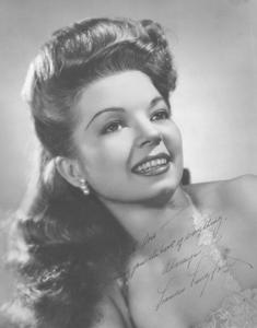 Frances Langford publicly photo.