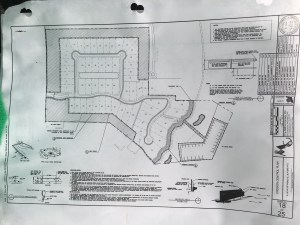 The subdivision Langford Landing. 6 houses will be located on bluff overlooking the St Lucie River. (Documents on site)