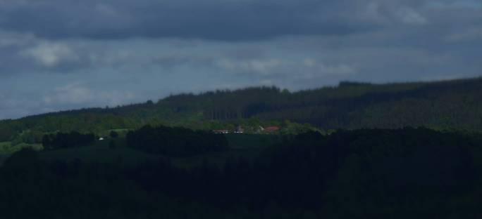 Widok z wieży wleńskiego zamku na Tarczyn
