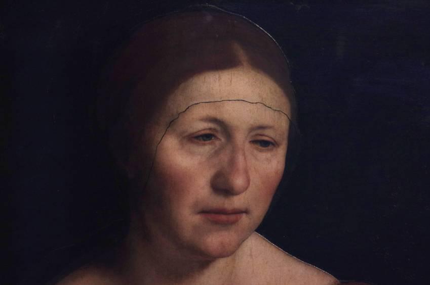 O cztery lata starsza od Hansa wdowa po garbarzu Elsbeth Binzenstock