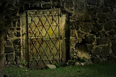 W dawnych murach miejskich Lubania nie brakuje tajemniczych drzwi