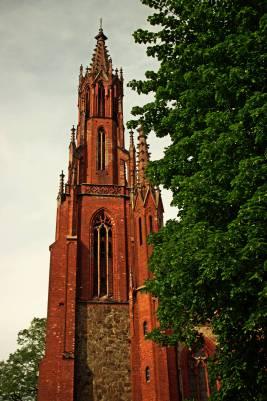 Powstały w XIX wieku neogotycki kościół św. Trójcy