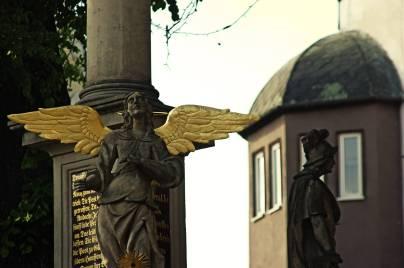 Anioł Stróż i św. Florian