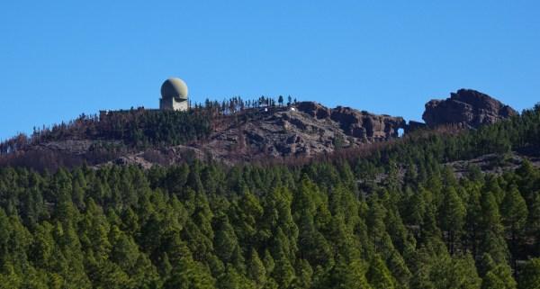 PICO de LAS NIEVES stacja radarowa