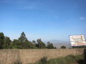 Entering the Rift Valley