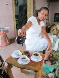 """Coffee! One of the few words I can speak in Amharic, the language of Ethiopia. Coffee is """"buna""""."""