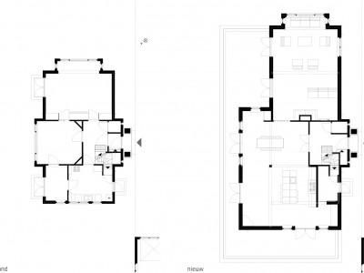 renovatie en uitbreiding villa wassenaar