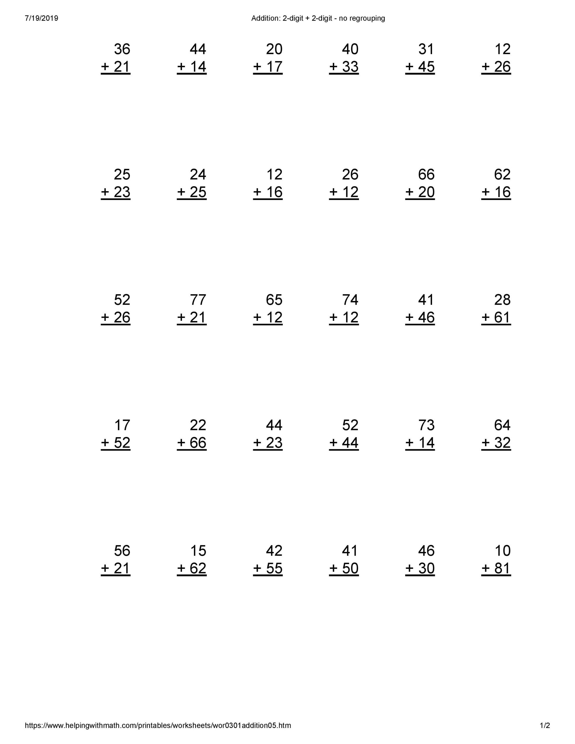 30 Multiplication Repeated Addition Worksheets