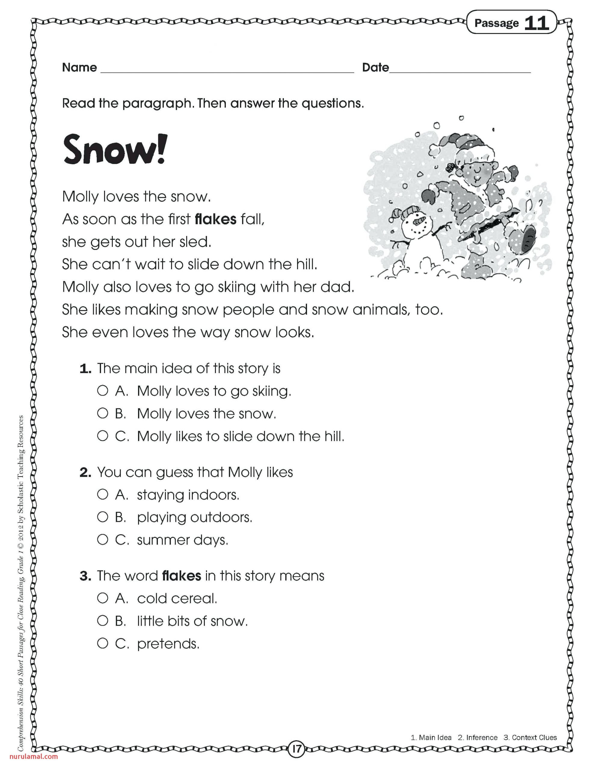 Making Predictions Worksheet 2nd Grade Template Library