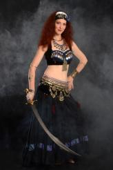Scimitar and dancer