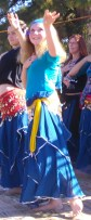 belly dancers at world belly dance day