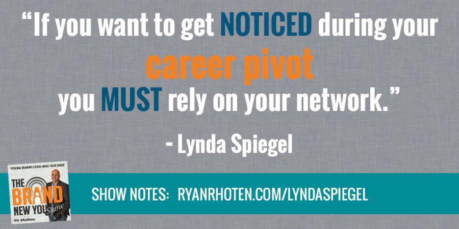 Lynda Spiegel Career Pivot