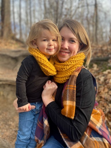 Mommy & Me Set - Autumn Bliss Cowl - Free Crochet Pattern