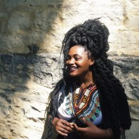 """""""If my hair could talk, it would shout: Afro-futurism overload! I think it's important to look good-on your terms. Fashion is a form of self expression, the way we dress reflects how we feel and how we see ourselves. When you look good, you feel good."""" Ntombi Ngidi, 3rd year Journalism student."""