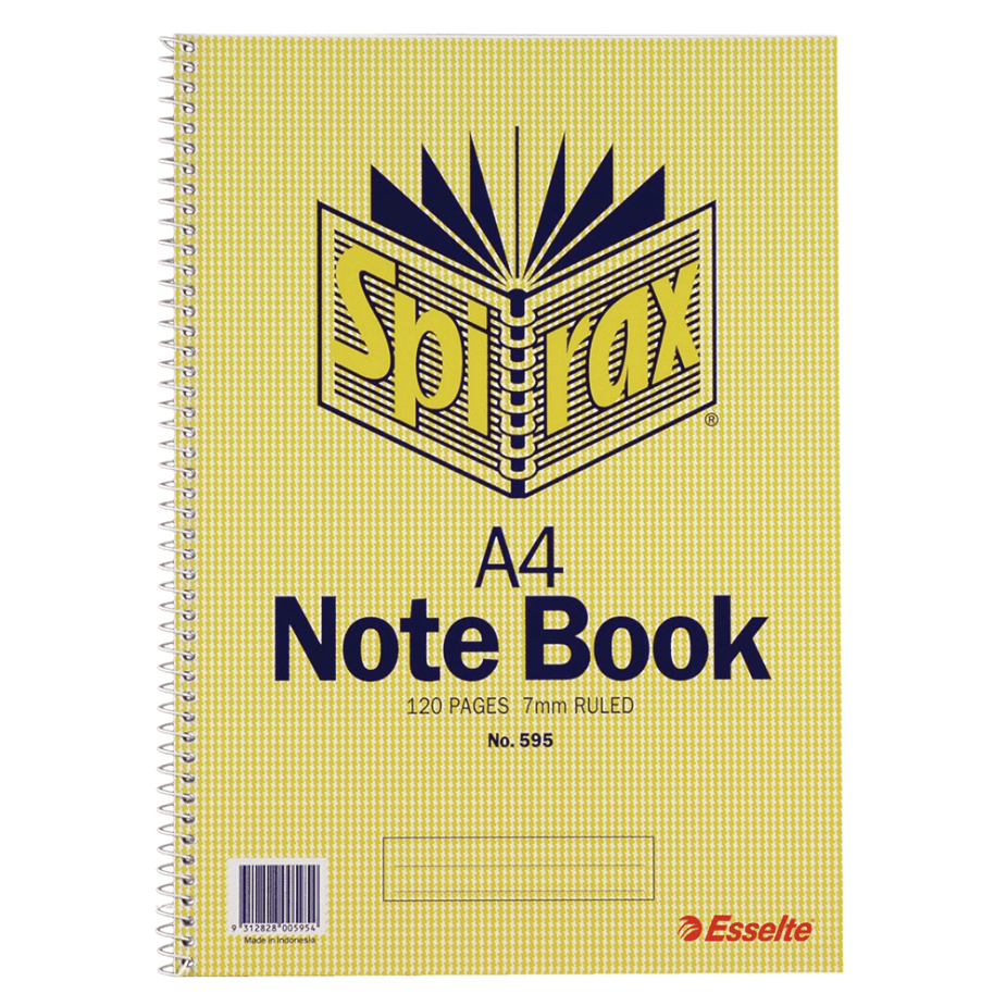 Spirax A4 Notebook that contained my first poems.