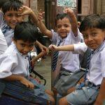 Indian Kids, Delhi, India, image by Jade Jackson