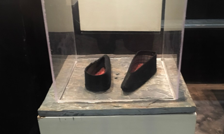 Foot binding museum Wuzhen, China, image by jade Jackson