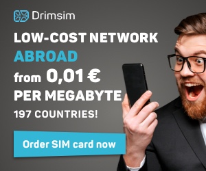 Drimsim global SIM card