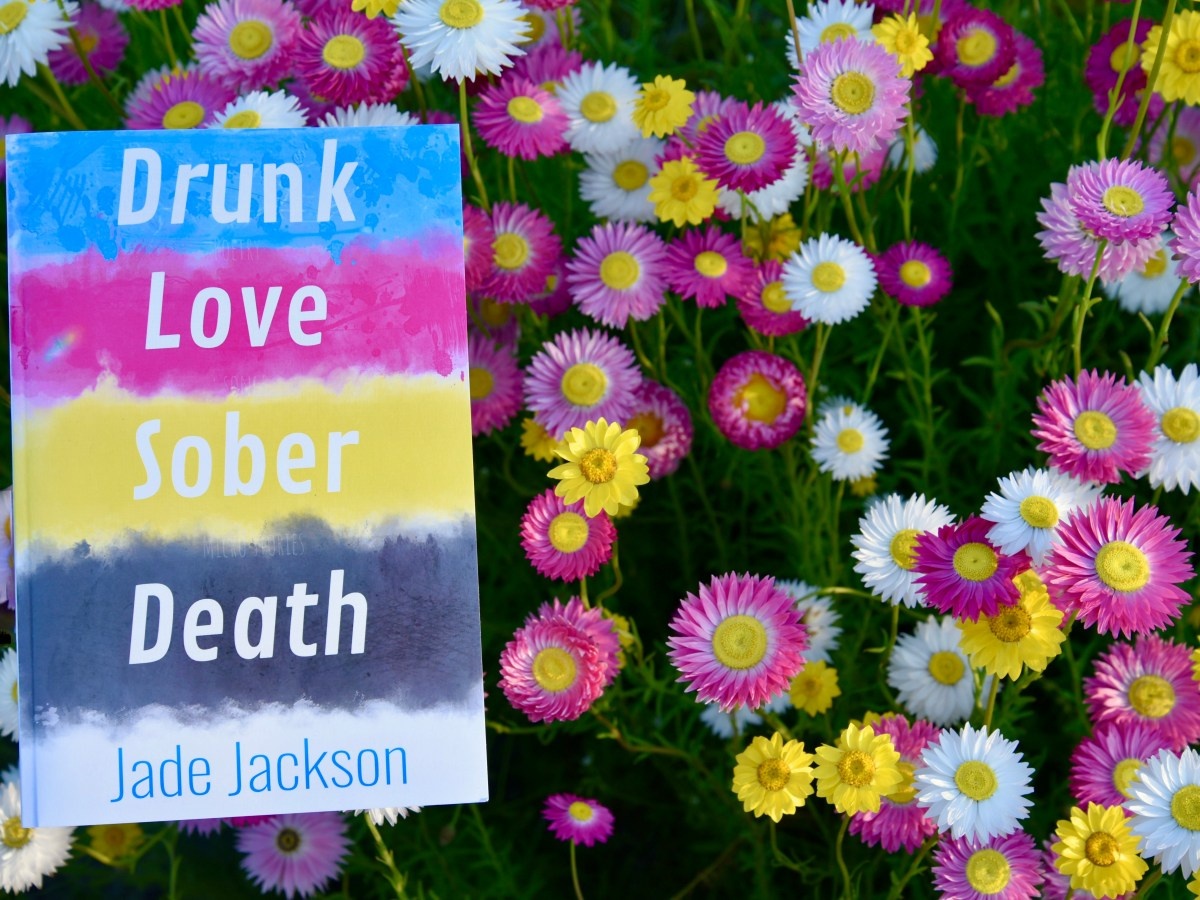 drunk love sober death book amongst flowers