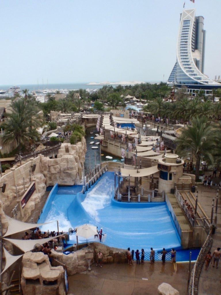 Wild Wadi Water Park near the Burj Al Arab. Image by Jade Jackson.