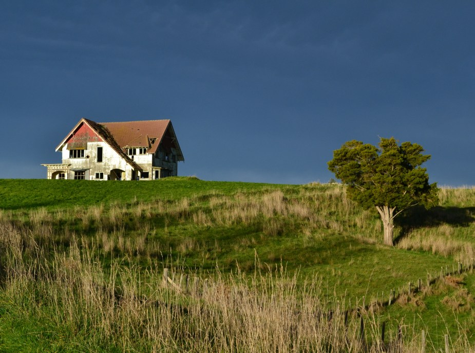 haunted house, Stonehenge Aotearoa, Wellington, New Zealand, image by Jade Jackson