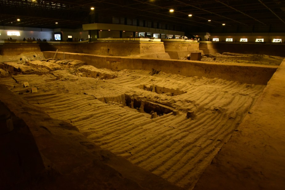 Pit 2, terracotta warriors, Xi'an, China, Image by Jade Jackson.
