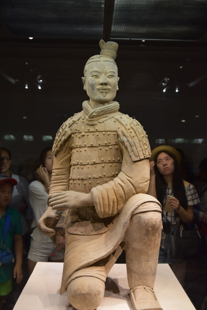 terracotta warrior, xi'an, China. Image by Jade Jackson.