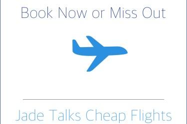 Cheap Flights by Jade