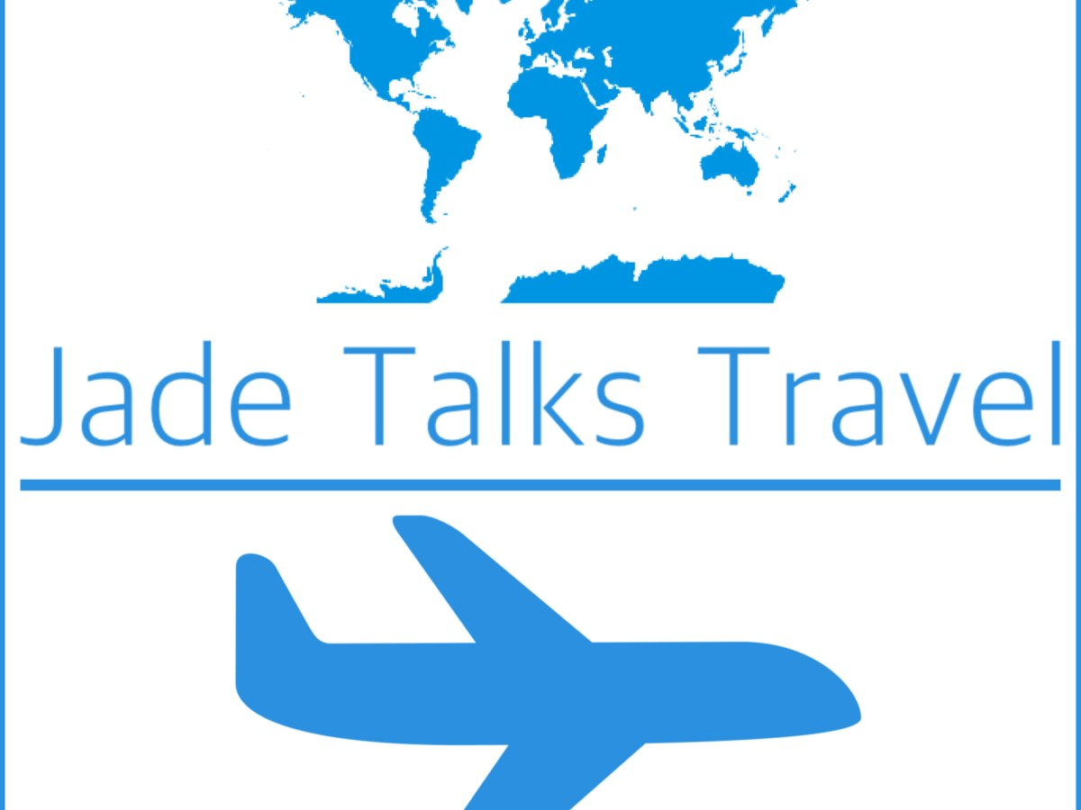 Jade Talks Travel Podcast, Cheap flights and off the beaten track destinations for the independent traveller, hosted by Jade Jackson logo