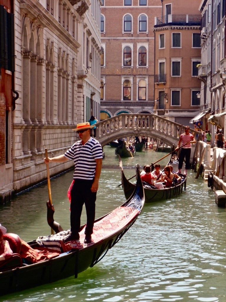 Gondolas in Venice, Italy. Image by Travel Photographer, Jade Jackson.