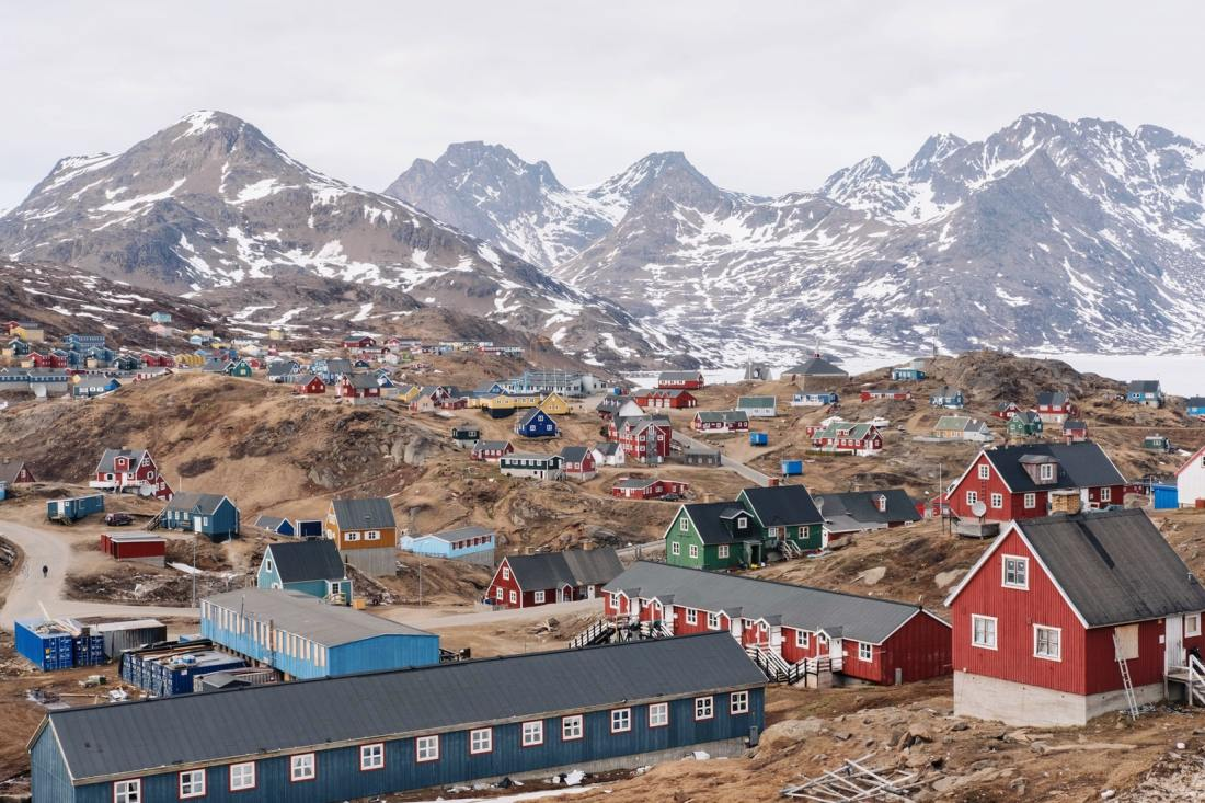 book flights to Greenland