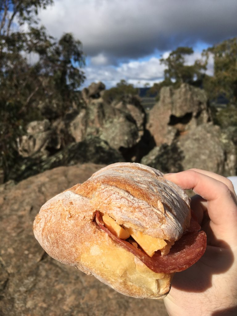 having a picnic at hanging rock, hanging rock, Melbourne weekend escapes, day trips from Melbourne, image by Jade Jackson