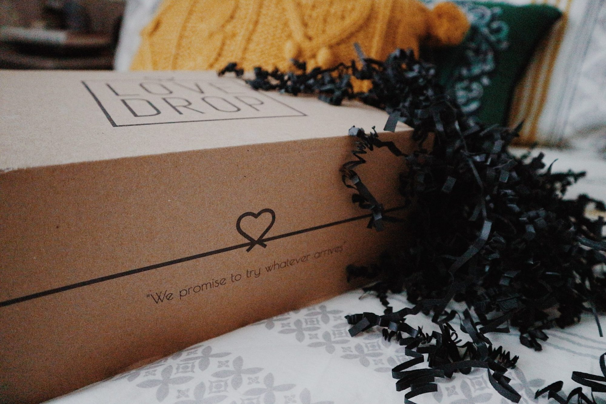 Reviewing The LoveDrop Date Night Subscription Box